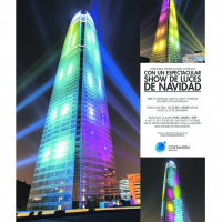 Show de Luces Costanera Center 2014